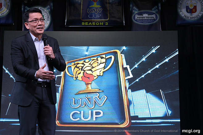 MCGI Drums Up Support for UNTV Basketball Cup's Season 2