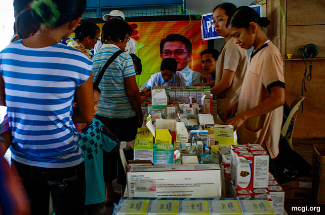 Geared towards serving the public completely, the MCGI Medical Missions do not just provide healthcare assistance but also dole out free medicines for those in need.
