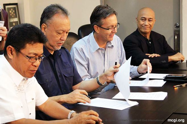 MCGI, UNTV and Equinet Team Up for Deep Water Systems Construction for Yolanda Survivors