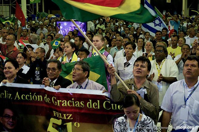 Brazil-Hosted MCGI Three-Day First Quarter International Thanksgiving Draws Tens of Thousands Congregants