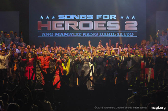 """Songs for Heroes 2"" Charity Concert that Raises P8-Million Gets Strong Show of Support from MCGI"