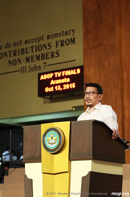 Bro Daniel Razon updates Church members in Apalit, Pampanga and in different corners of the globe of MCGI's upcoming big events. [Photoville International]