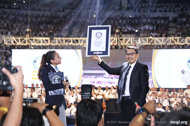 MCGI Breaks Guinness World Record, Promotes Charity for PWDs for The Old Path's 35th Anniversary