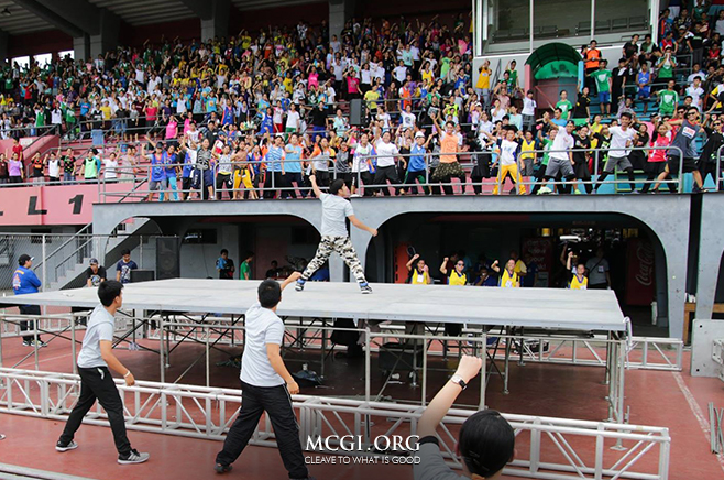 Thousands of MCGI Youth Join Metro Manila Youth Sports Activity