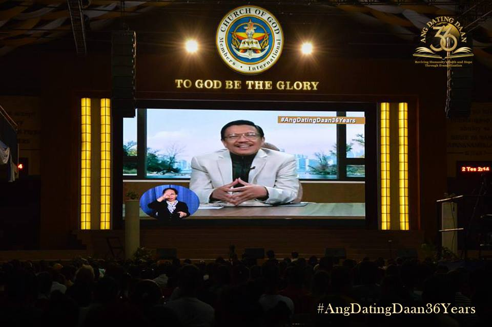 The Greatest Story of Love Ever Told is the Love of God to Humanity Says Bro. Eli Soriano During Ang Dating Daan's 36th Anniversary Celebration