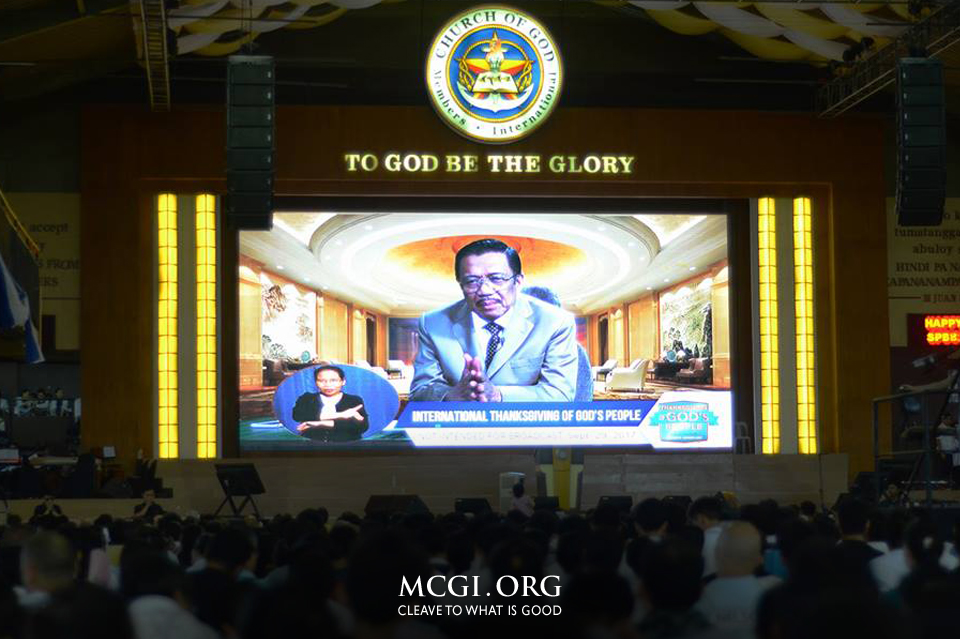MCGI's Thanksgiving of God's People for the 3rd Quarter of 2017 Held