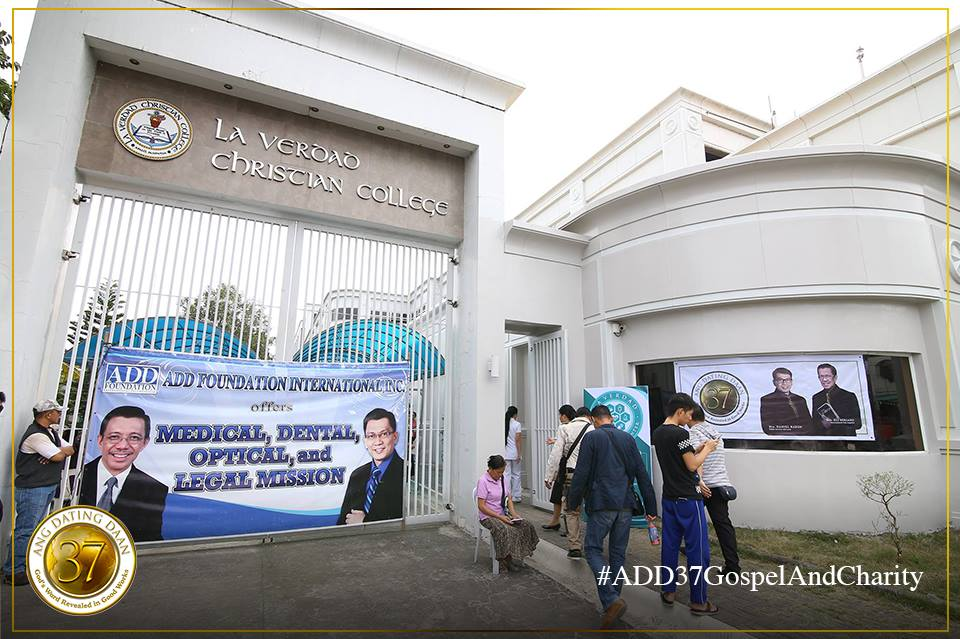 Ang dating daan convention center apalit town