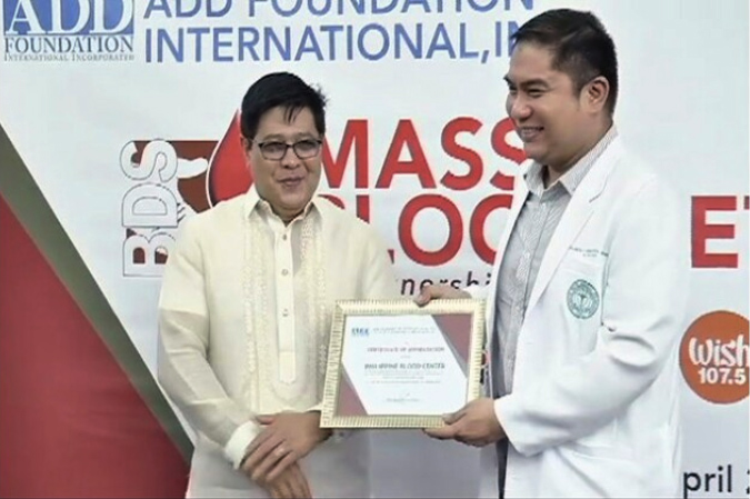 MCGI Donates 452 Blood Bags to Philippine Blood Center
