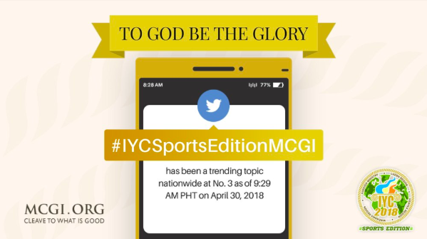 Successful Sports Edition of MCGI International Youth Convention Held