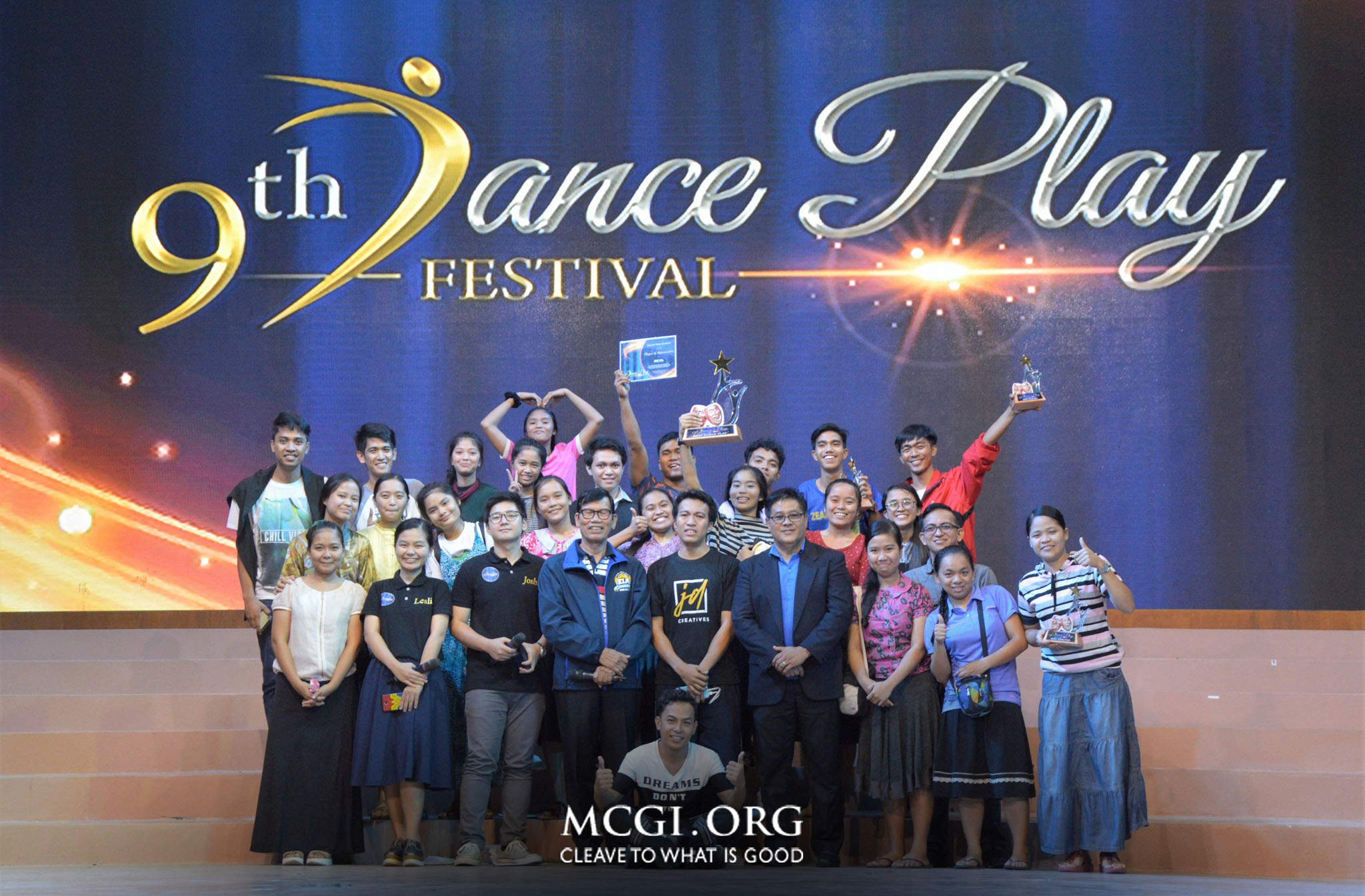 "On 9th Dance Play Fest, MCGI Youth Urged to ""Go on a Higher Level of Service to God"""