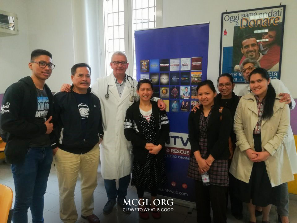 MCGI Hosts Mass Blood Drive in Rome, Italy