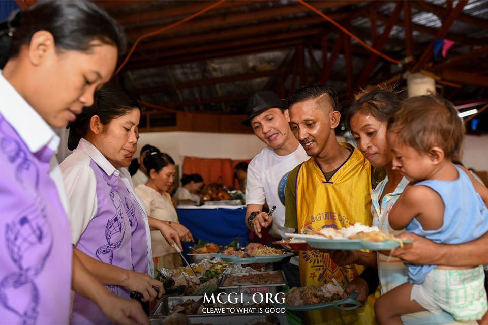 The Feast Dedicated to God (Fiesta ng Dios) celebration offered a sumptuous feast to all who attended, especially the less fortunate who were treated as esteemed guests.