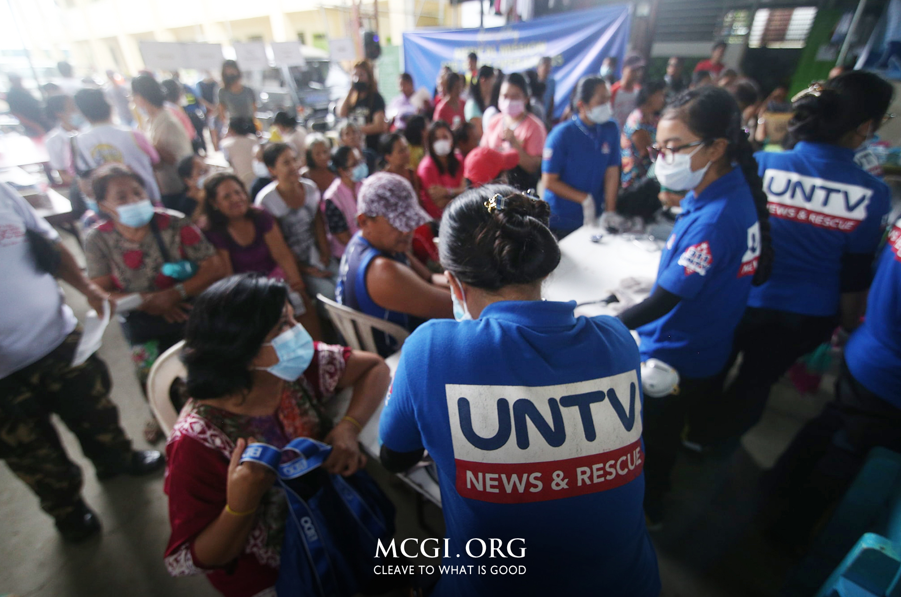 MCGI and UNTV Hold Week-Long Medical Mission and Relief Operation