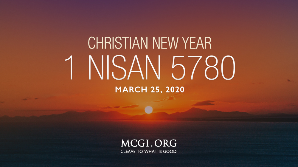 MCGI-Christian-New-Year-Nisan-5780-christian-celebration