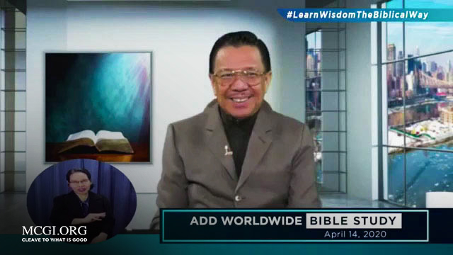 "Amid the Covid-19 Pandemic: MCGI Launch ""Ang Dating Daan"" Daily Bible Study Online"