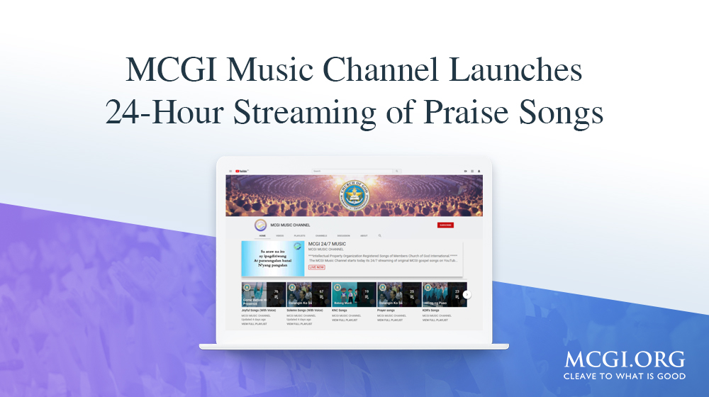 MCGI Music Channel Launches 24-Hour Streaming of Praise Songs