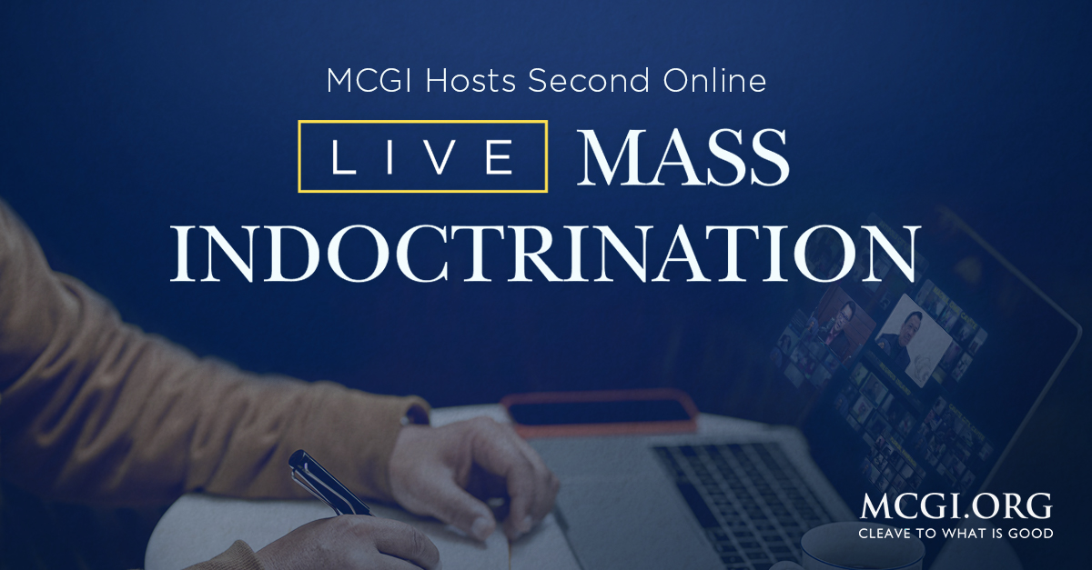 MCGI Hosts Second Online Live Mass Indoctrination