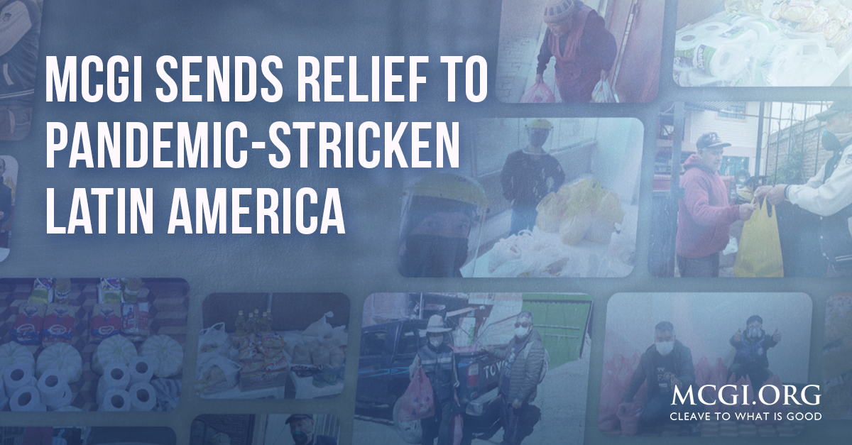 MCGI Sends Relief to Pandemic-Stricken Latin America