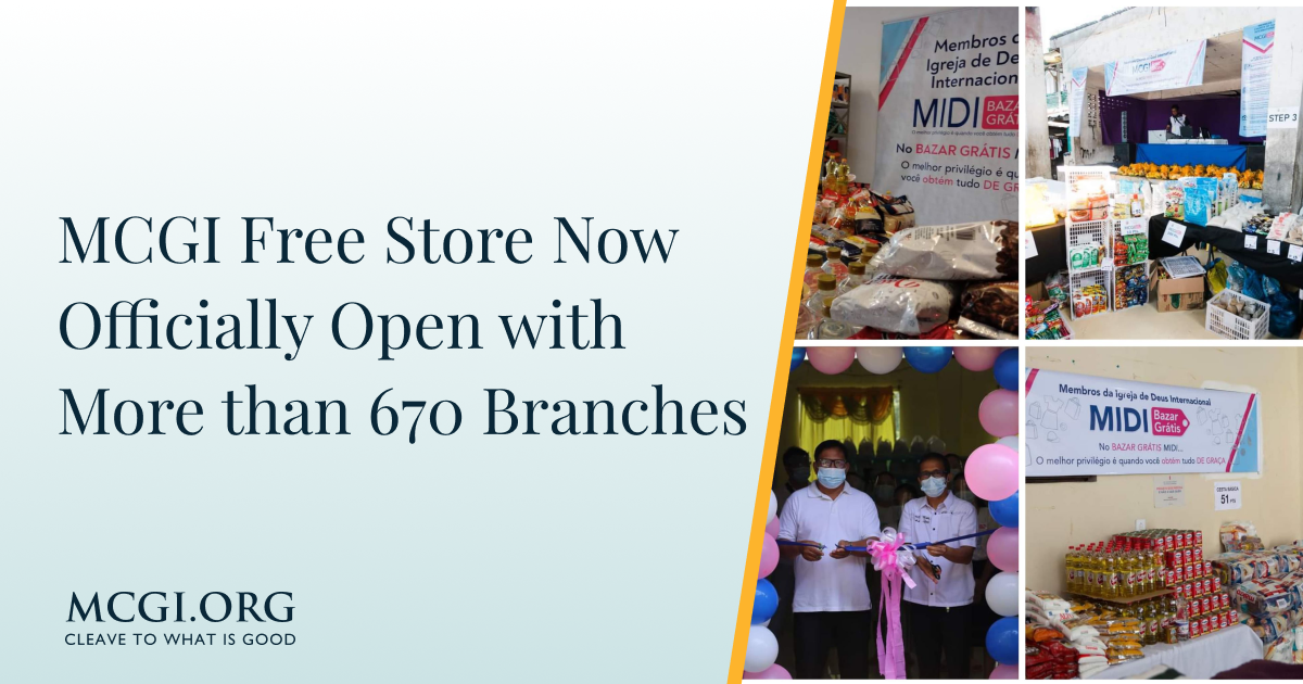 MCGI Free Store Now Officially Open with More than 670 Branches